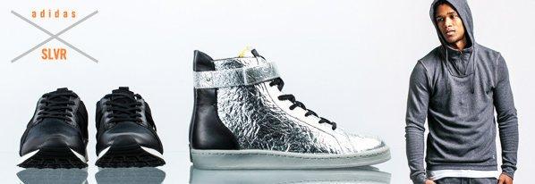 Shop Premium Sneakers: adidas SLVR