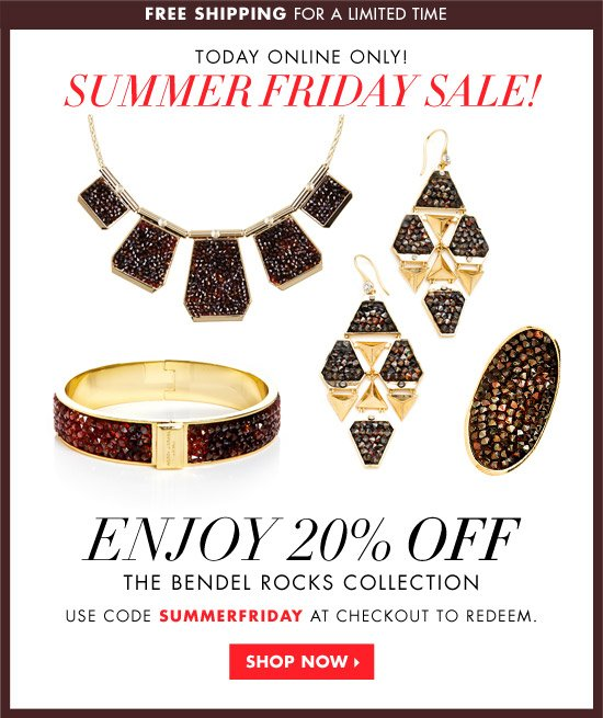 SUMMER FRIDAY SALE