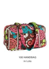 100 Handbag in Lola