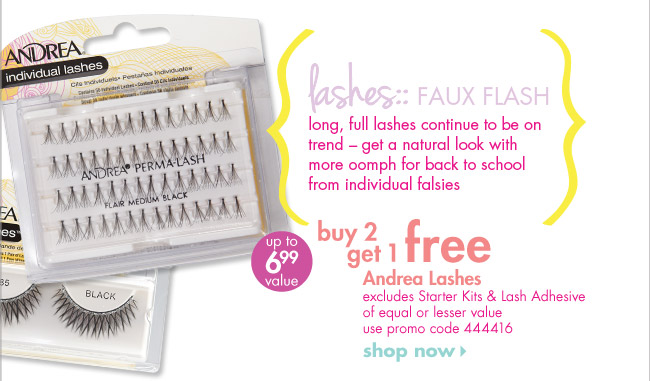 buy 2 get 1 free Andrea Lashes