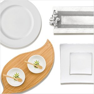 Serve Up Style: Classic White, Metal, or Wood