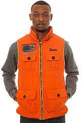 Hunting Vest in Burnt Orange