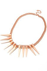 One More Night Necklace in Rose Gold