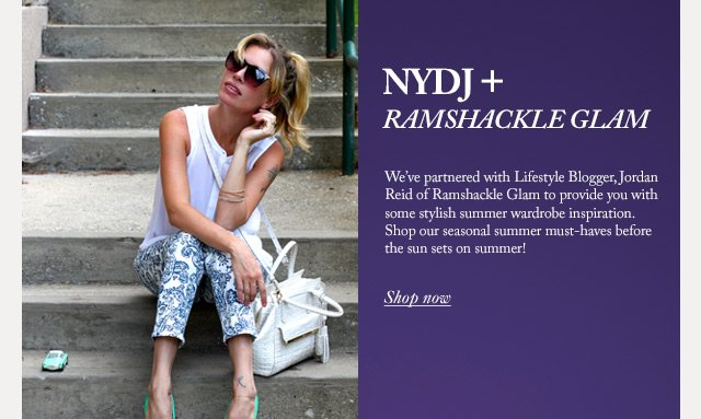 NYDJ + Ramshackle Glam Shop Now