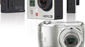 GoPro & Kodak Camera