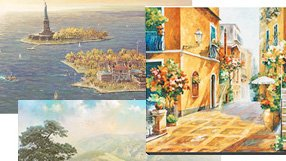 Limited Edition Art: Landscapes & Locations