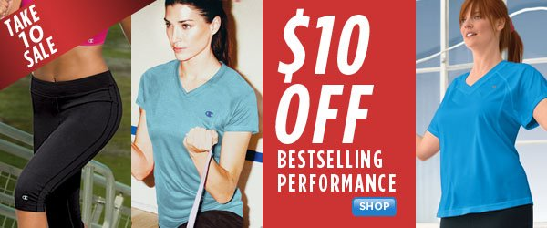 SHOP up to 40% Off Bestselling Women's Performance