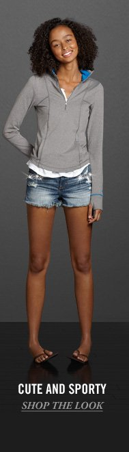 CUTE AND SPORTY SHOP THE  LOOK