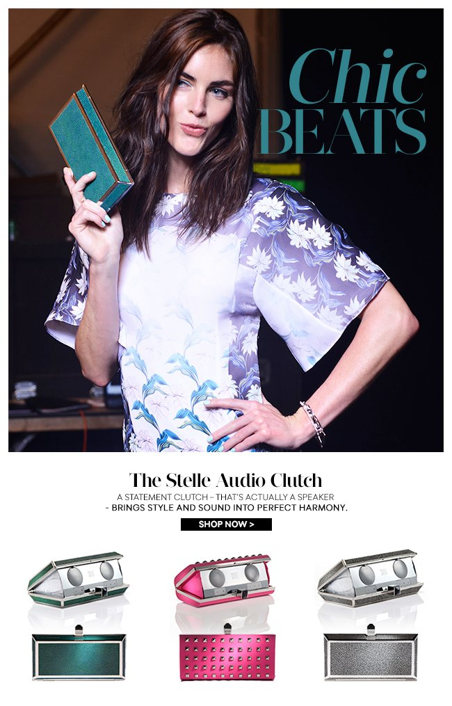 Chic Beats: The Stelle Audio Clutch