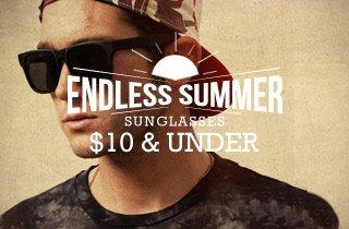 Sunglasses $10 & Under