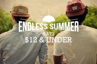 Hats $12 & Under