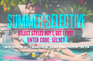 Select Styles: Buy 1, Get 1 Free