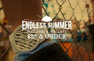 Watches & Wallets $25$ Under