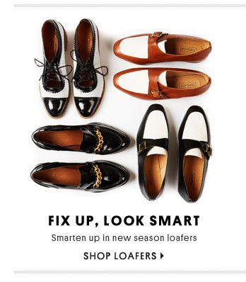 Fix up, look smart - Shop loafers