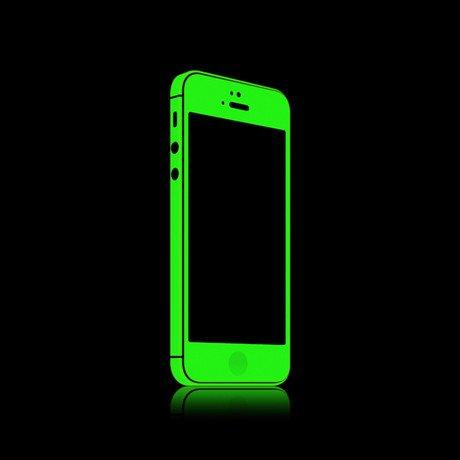 iGlow for iPhone 5 // Green Glow