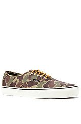 Authentic Sneaker in Camo & Marshmallow