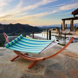 Outdoor Lounge: Hammocks & Swings