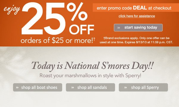 Don't Miss The Boat! + 25% Off!