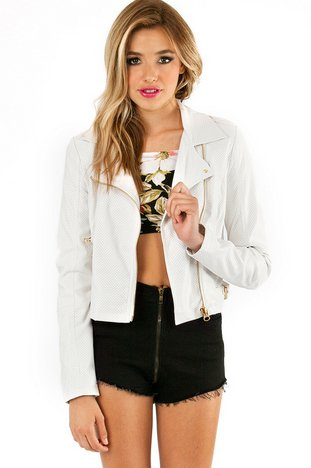 BAD GIRL BIKER JACKET 68