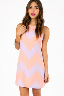 LINUS ZIG ZAG SLEEVELESS DRESS 36