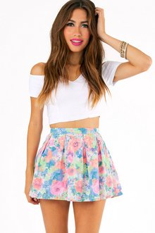 BRIGHTEN MY DAY SKIRT 22