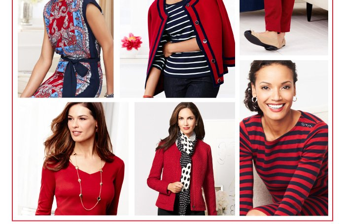 Red alert- Fall's favorite hue has arrived.