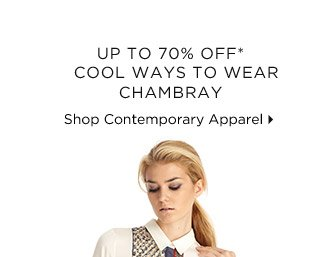 Up To 70% Off* Cool Ways To Wear Chambray