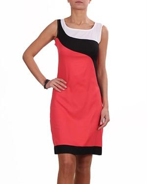 Prime Days Color Block Dress Made In Europe
