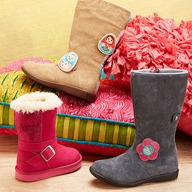 Cozy Steps: Girls' Boots