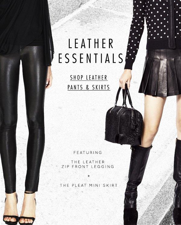 Leather Leg Essentials