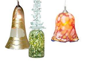 Colorful Glow: Art Glass Lighting