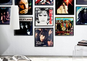 Let It Rock: Framed LP Covers