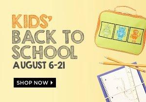 KIDS' BACK TO SCHOOL