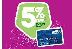 Lowe's Consumer Credit