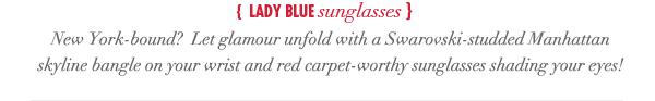 Lady Blue Sunglasses