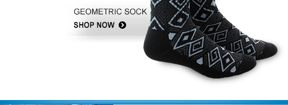 Shop Geometric Sock »
