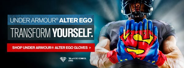 UNDER ARMOUR® ALTER EGO TRANSFORM YOUR SELF. - SHOP UNDER ARMOUR® ALTER EGO GLOVEES