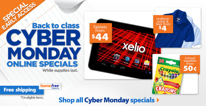 All Cyber Monday specials