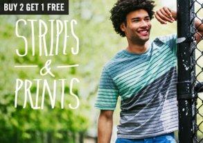 Shop T-Shirt Blow Out: Stripes and Prints