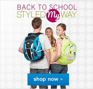Back to School. Styled My Way. Shop now.