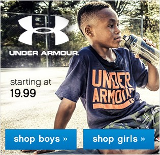 Under Armour starting at 19.99.
