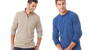 Sweaters, Henleys & Zip-ups