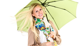 Fall Preview: Scarves & Umbrellas