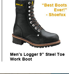 "Men's Logger 9"" Steel Toe"