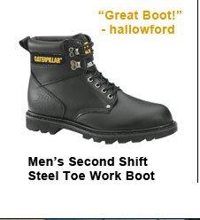 Men's Second Shift Steel Toe