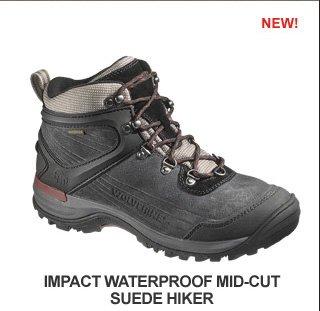 Impact Waterproof Mid-Cut Suede Hiker