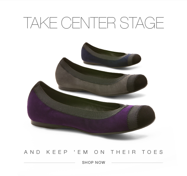 Take Center Stage