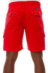 The William Deck Fit Shorts in Red
