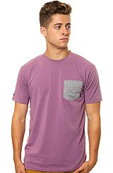 The O'Neil Pocket Tee in Eggplant