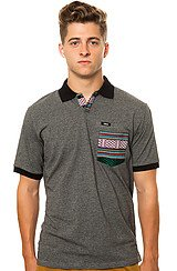 The Hemit Polo in Grey